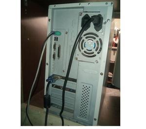 Computer fisso desktop windows xp intel pentium 3 ram cpu