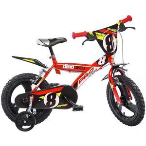 Dino Bikes Bicicletta per Bambini Pro-Cross Rossa 40 cm