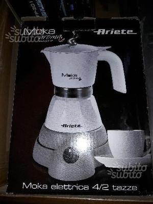 Moka ariete elettrica 4 tazze