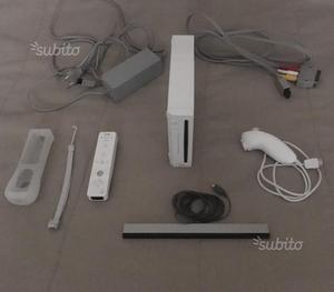 Nintendo wii completa con giochi e accessori