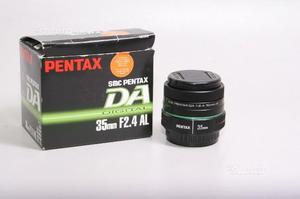 Obiettivo pentax smc da 35 mm f/2.4 al. garanzia