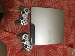 Play Station 3 Silver +2controller+6 giochi