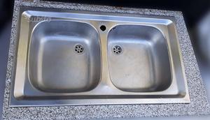 Lavello inox doppia vasca