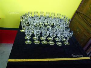 Set 36 bicchieri in cristallo Nuovi