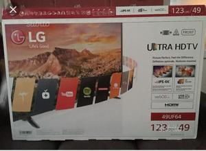 "Smart tv lg 49""led full hd 4k nuova imballata"