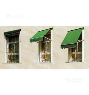 Tenda da sole per balcone axel colore verde 123x70