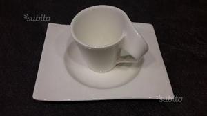 Villeroy Boch set di 6 Tazzine e Piattini da caffè