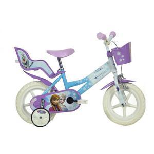 Dino Bikes Bicicletta per Bambini Frozen Viola 30 cm