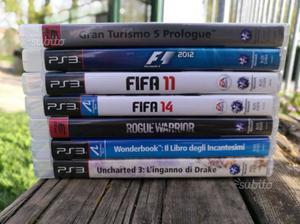 Lotto 7 giochi PS3