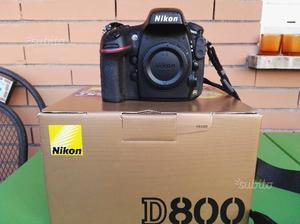 Nikon d800 reflex fx perfetta scatti