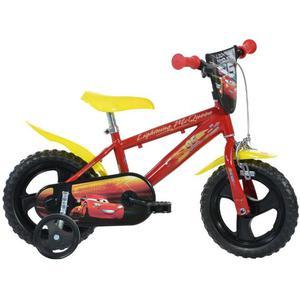 Dino Bikes Bicicletta per Bambini Cars 3 Rossa 30 cm