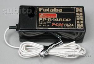 RICEVENTE FUTABA FP-R148 DP PCM 35 mHz a 8 Canali