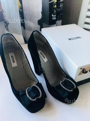 Scarpe con tacco Moschino
