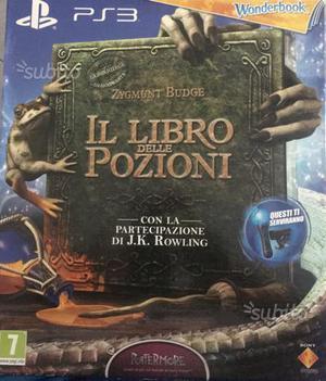 PS3 libro delle pozioni,a spasso con i dinosauri
