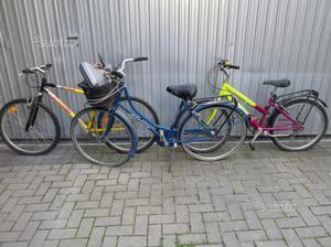 Tre bici al prezzo di una