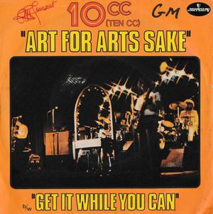 10cc - Art For Arts Sake - ' 7 / 45 giri  Mercury