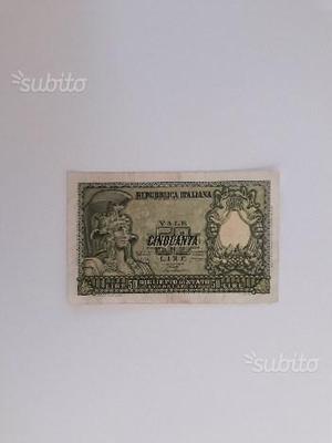 Coppia di banconote (Prezzo scontato)