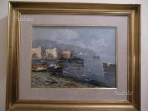 Dipinto ad olio con cornice cm 55,5 x cm 46