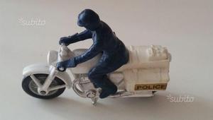 Modellino Moto Honda 750 Police Scala 1/43
