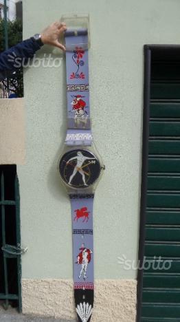Swatch anni 80 da collezione da parete