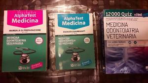 Alpha test di medicina e libro editest  quiz