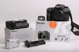 Fotocamera digitale reflex pentax k3 ii + bat. gri