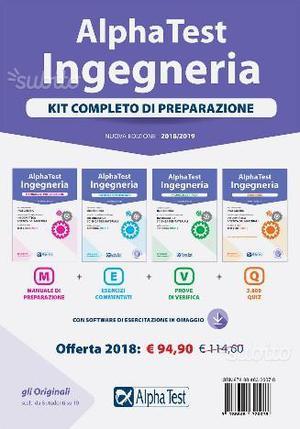 Kit completo Alpha Test - INGEGNERIA