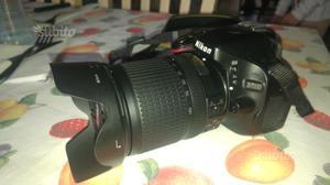 Nikon d con o senza obiettivo  vr