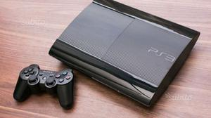 PS3 ultraslim + 2 joypad originali