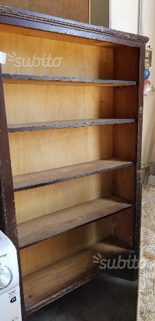 Libreria Antica In Legno.Codice Libreria Antica In Legno L Cm 100 Posot Class