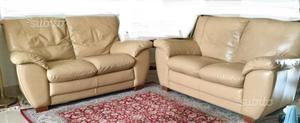 Coppia divani in pelle DOIMO