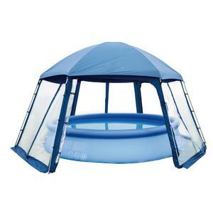 Gre Tenda per Piscina 400 cm Blu PH54