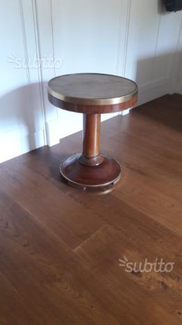 Tavolino legno stile marina