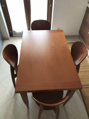 Tavolo Color Ciliegio Allungabile.Tavolo Ciliegio Calligaris Posot Class