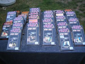 RACCOLTA STAR TREK VHS