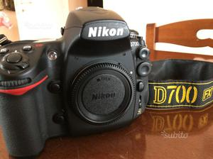 Reflex Nikon d700 + grip D300 + batterie en el3