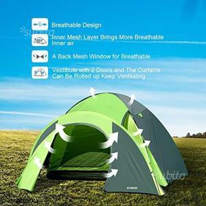 Tenda da Campeggio 4 Persone