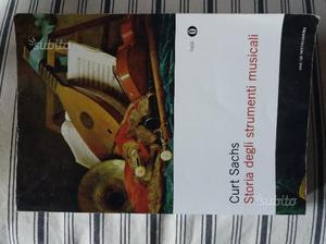 C.Sachs Storia degli strumenti musicali