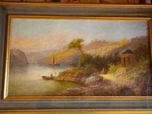 Istanbul dipinto antico