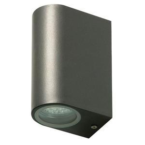 Ranex SMARTWARES Luce da Parete Doppia a LED 6 W Grigia