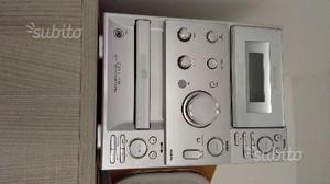 Stereo nuovo Sony con 2 casse e telecomando