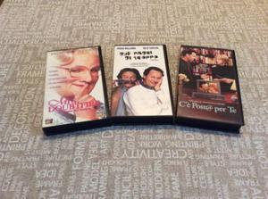 TRE VHS COMMEDIA