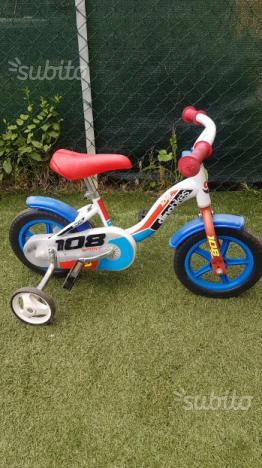 Bici da bimbo 6 pollici con rotelle