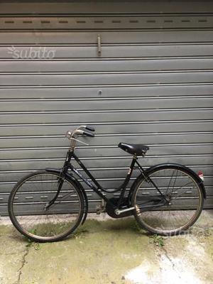 Bicicletta Bianchi Anni 50 Con Freno A Bacchetta Posot Class