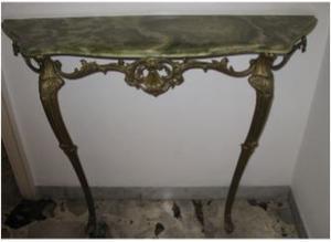 Consolle e Tavolino da salotto in onice