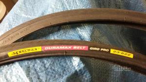 Due coppie copertoni e tubolare per bici da corsa