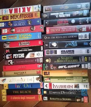 Film, cartoni animati e altro in VHS originali