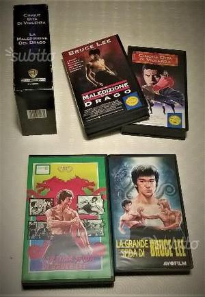 Film di BRUCE LEE (4 VHS)