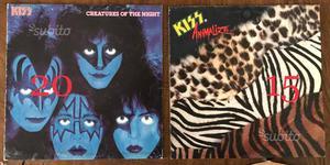 LP 33 giri dischi vinili Lucio Dalla Iggy pop Kiss