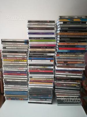 Lotto 100 cd originali vari generi